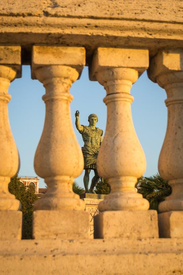 César à Naples photographie stock libre de droits