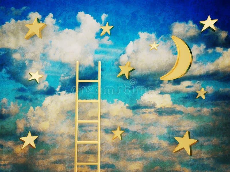 Céu ilustração do vetor