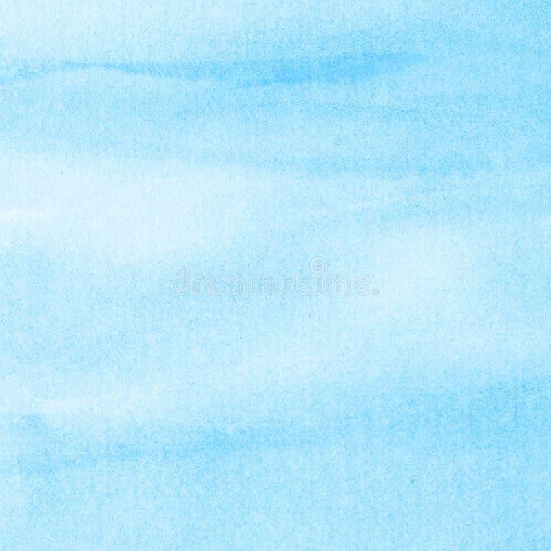 Céu abstrato da aquarela ilustração stock
