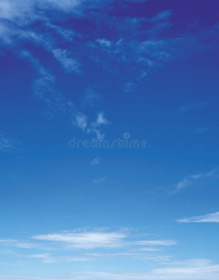 Céu azul foto de stock royalty free