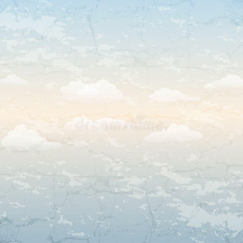 Download Céu azul ilustração do vetor. Ilustração de outdoor, noite - 29842992