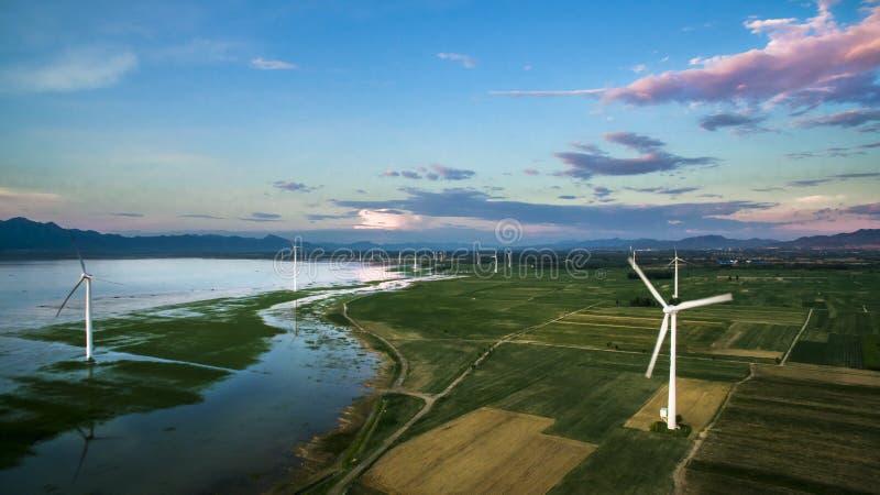 Céu azul em China foto de stock