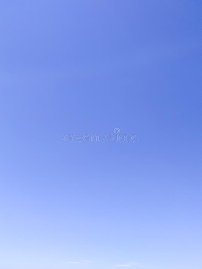 Céu azul na cor protegida imagens de stock royalty free