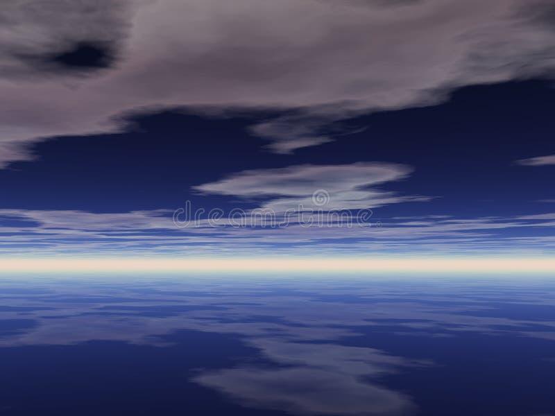 Céu Bachground imagem de stock
