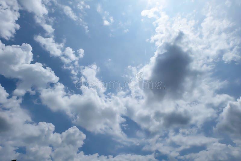 Céu bonito fotografia de stock
