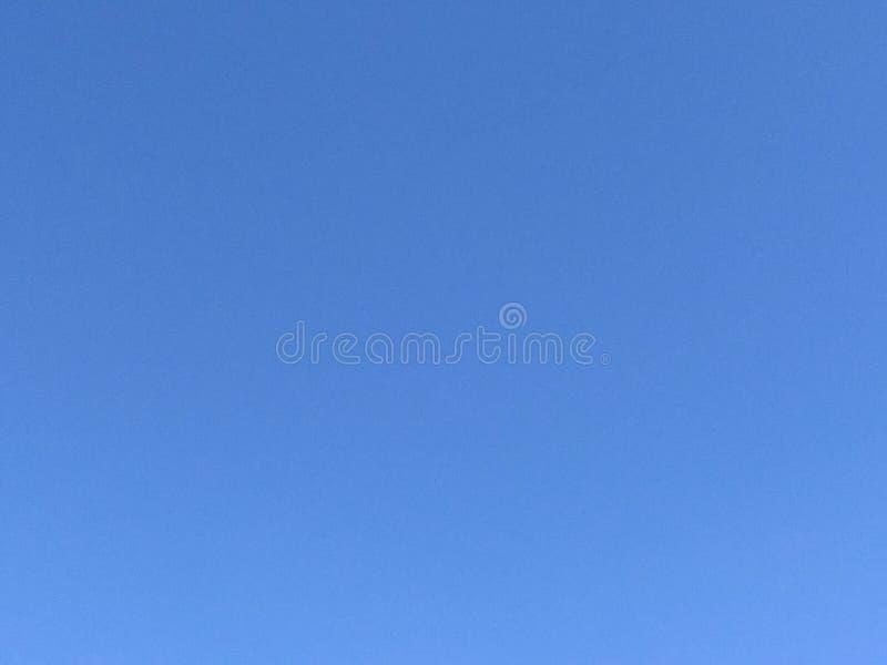 Céu claro sem nuvens Fundo do céu fotografia de stock royalty free