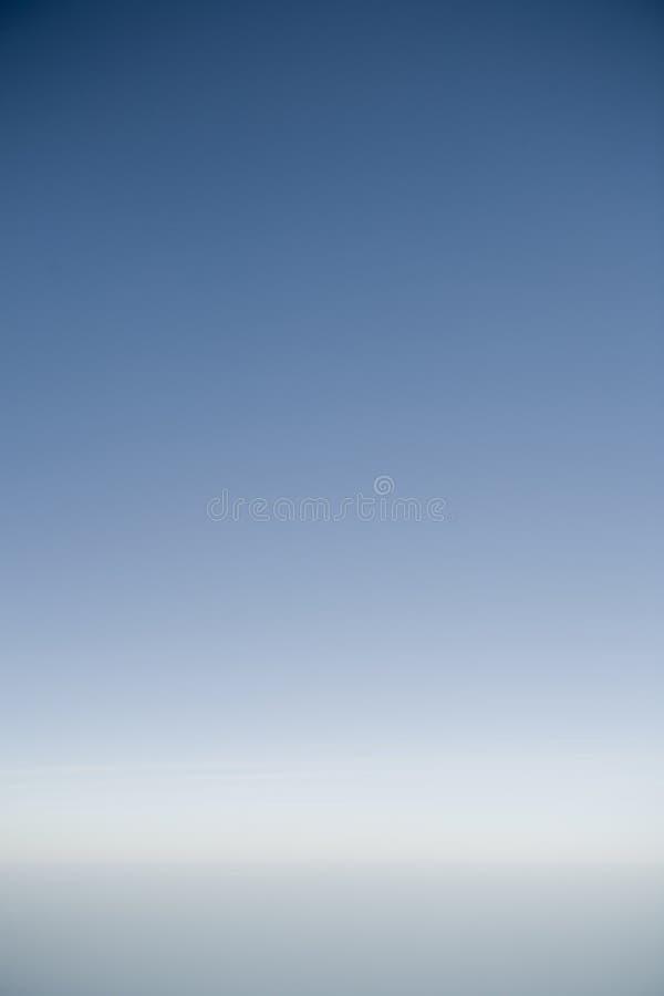 Céu com horizonte fotografia de stock royalty free