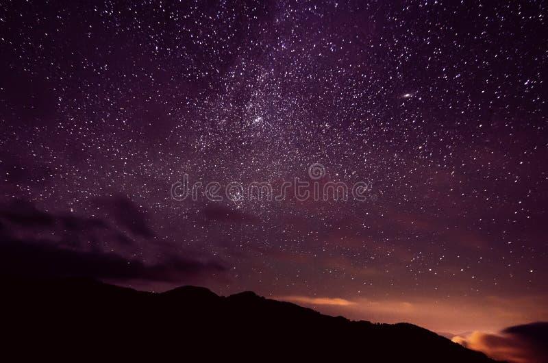 Céu da estrela fotografia de stock royalty free