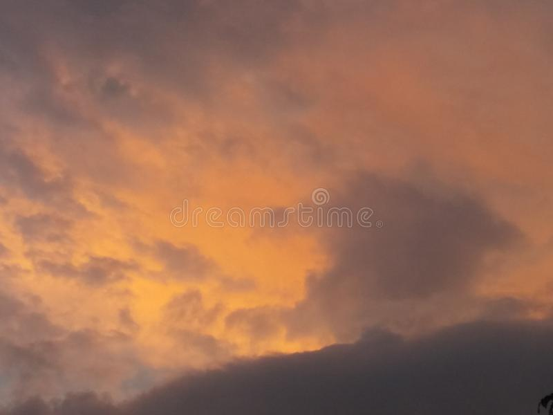 Céu da natureza foto de stock