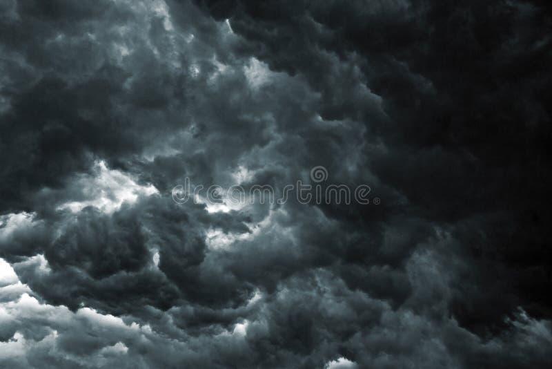 Céu da tempestade imagem de stock