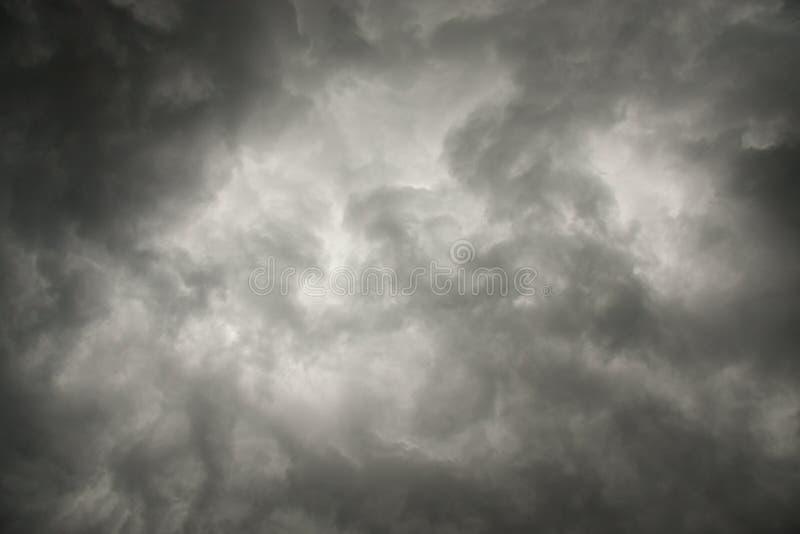 Céu da tempestade fotos de stock royalty free