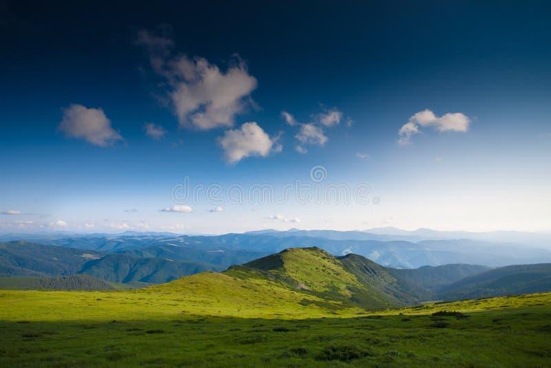 Céu das montanhas fotos de stock royalty free
