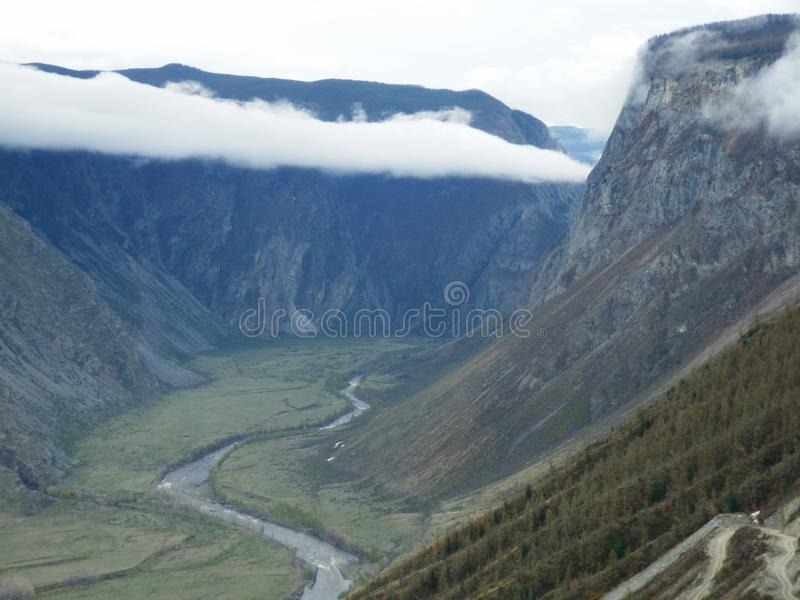 Céu de Altai imagens de stock