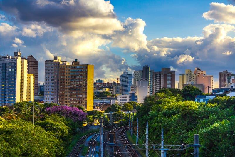 Céu de Belo Horizonte Minas Gerais Brazil foto de stock