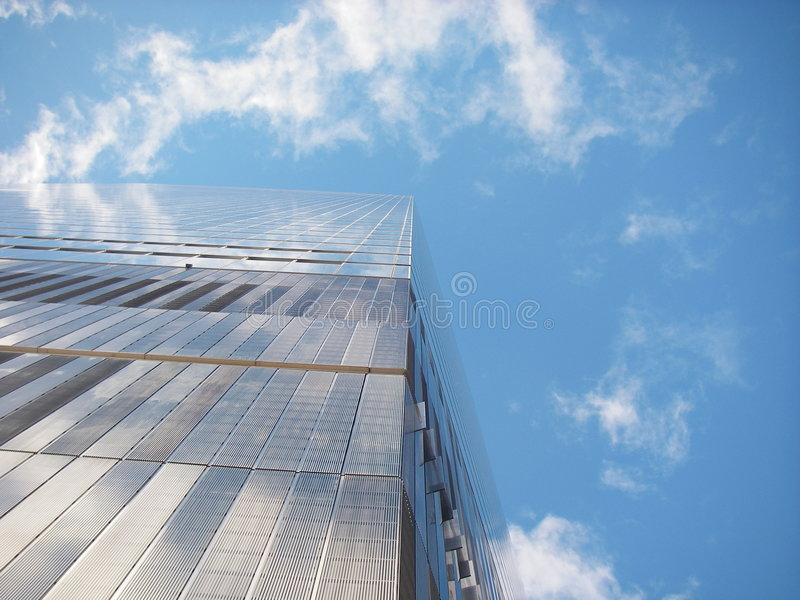 Céu de New York foto de stock