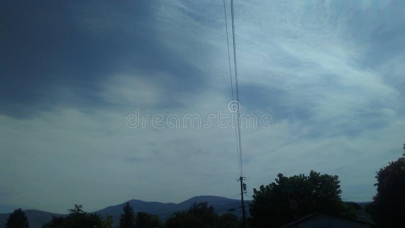 Céu de Omak um olhar da águia imagens de stock