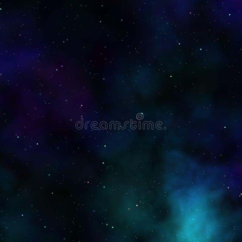 Céu de Outerspace ilustração royalty free