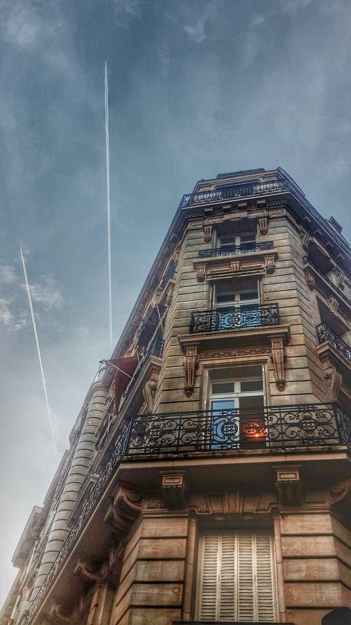 Céu de Paris imagens de stock royalty free