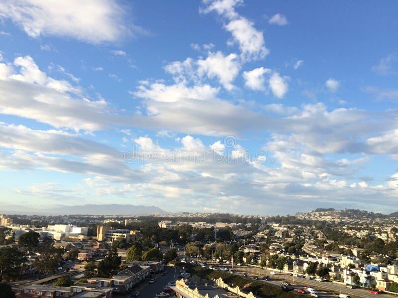 Céu de San Francisco imagens de stock