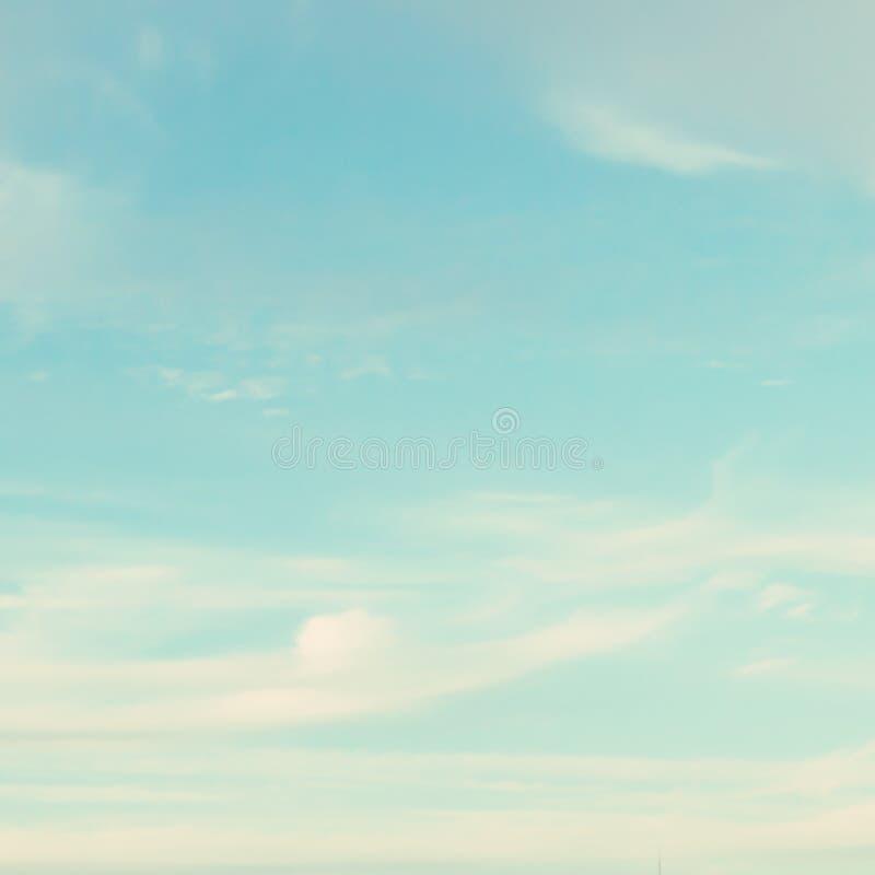 Céu de turquesa imagens de stock royalty free