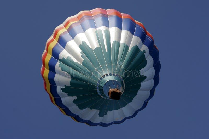 Céu do balão de ar SS159 quente fotos de stock