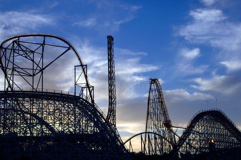 Céu do Coaster imagens de stock