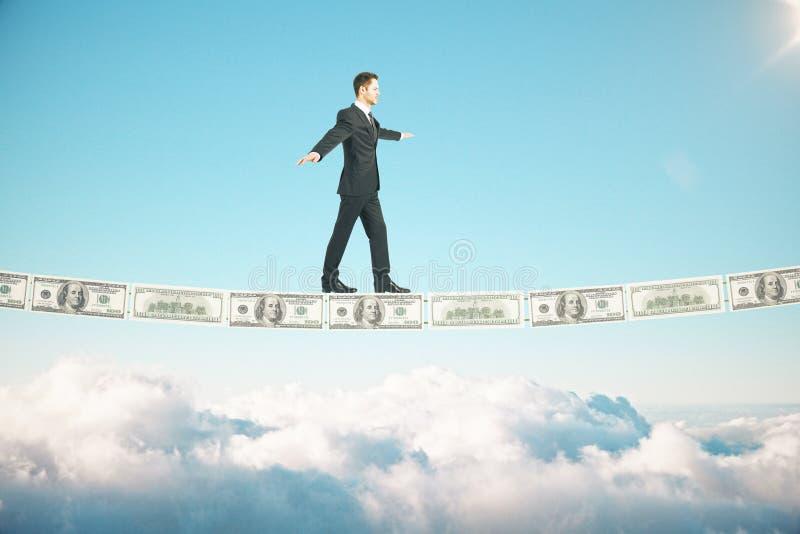 Céu do conceito do risco fotos de stock