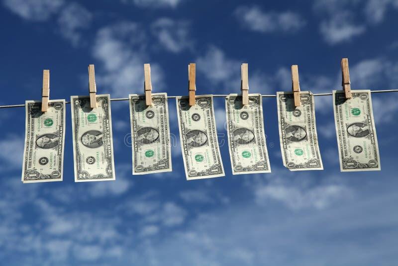Céu do dólar fotografia de stock