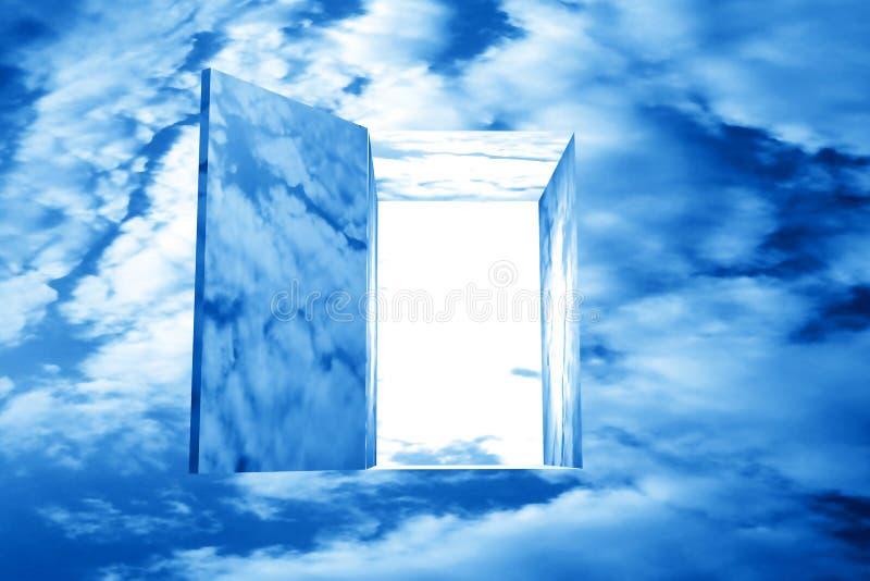 Céu do deus imagens de stock
