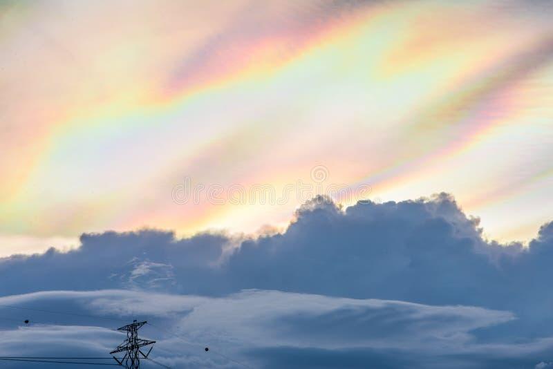 Céu do espectro imagens de stock