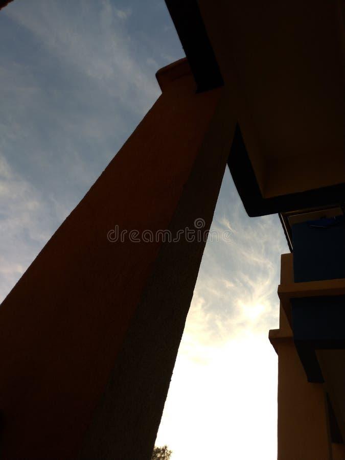 Céu do céu fotografia de stock