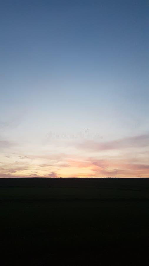 céu do verão fotografia de stock royalty free