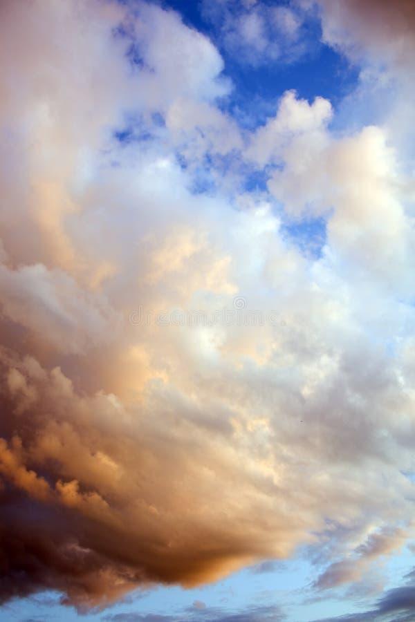 Céu dramático imagens de stock