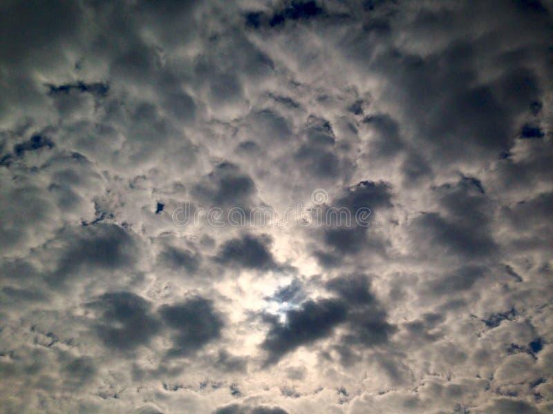 c?u dram?tico, nuvens fundo, antes da chuva fotografia de stock