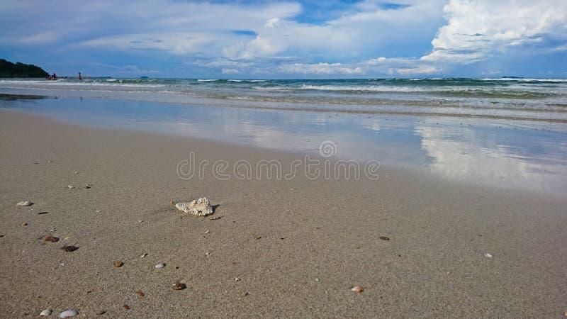 Céu e mar imagens de stock