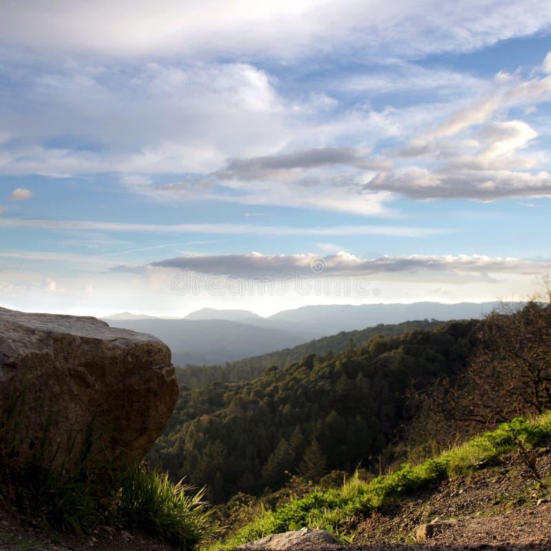 Céu E Montanhas Imagem de Stock Royalty Free
