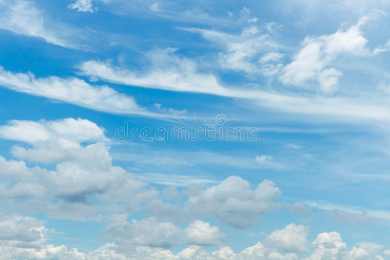 Céu e natureza fotografia de stock