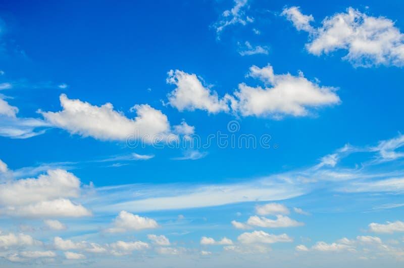 Céu e nuvens foto de stock