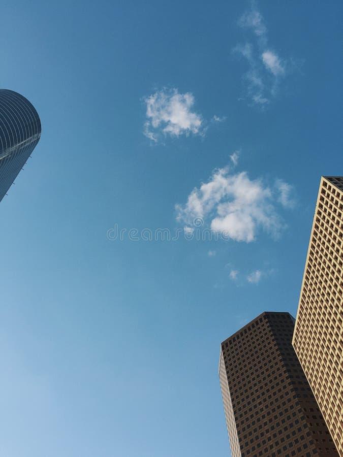 Céu em Houston fotos de stock royalty free