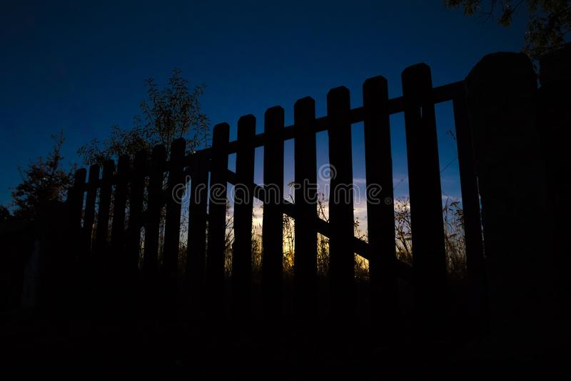 Céu, escuridão, luz, noite foto de stock