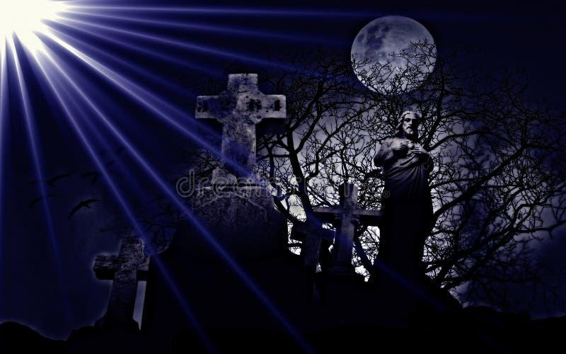 Céu, escuridão, luz, roxo imagem de stock royalty free