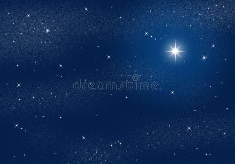 Céu estrelado ilustração royalty free