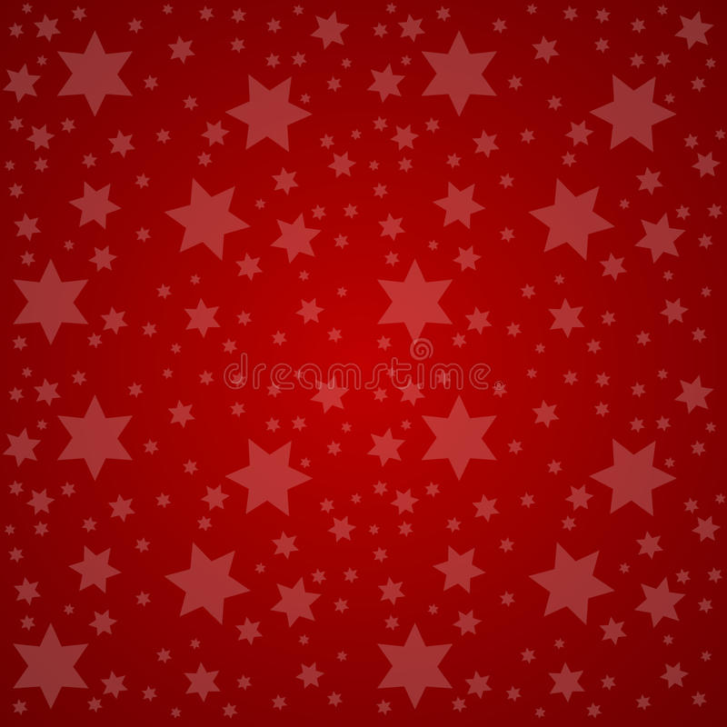 Céu estrelado Ilustração do vetor do conceito da boa noite ilustração stock