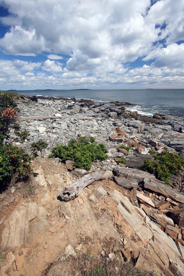 Céu grande Maine fotografia de stock royalty free