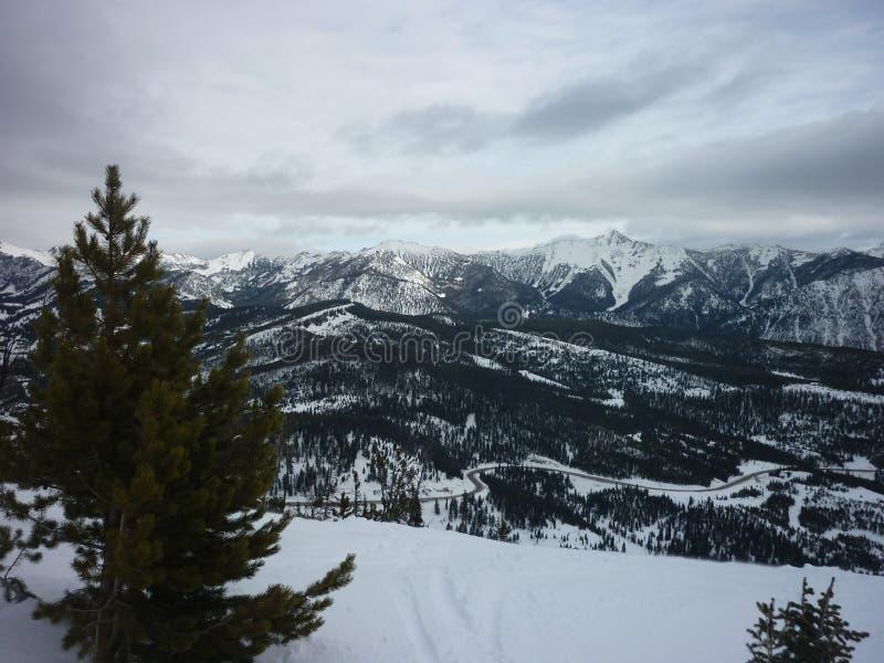 Céu grande Montana foto de stock
