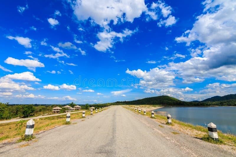 Céu no verão fotografia de stock