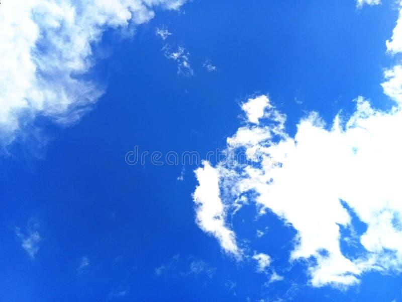 Céu no verão imagens de stock