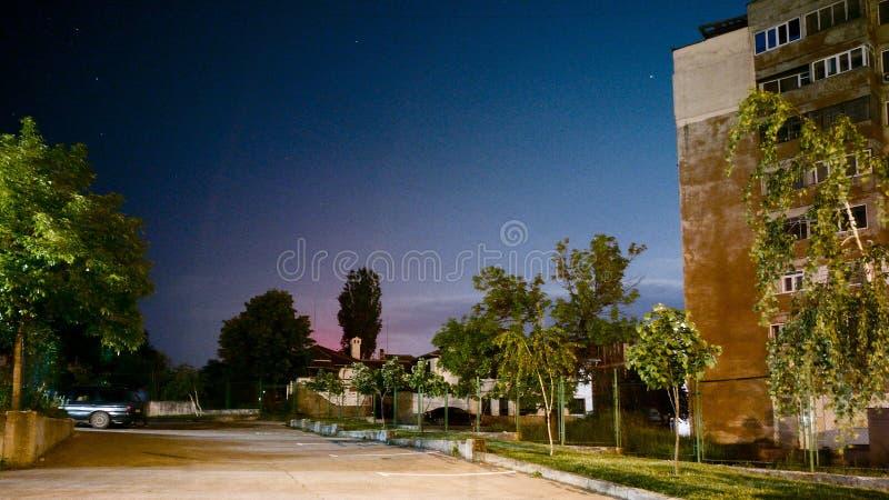 Céu nocturno imagens de stock royalty free