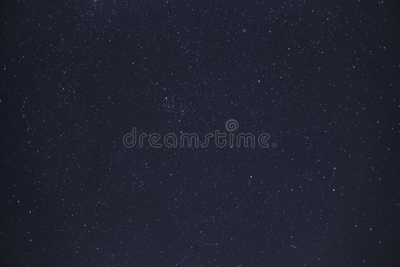 Céu noturno com estrelas foto de stock royalty free