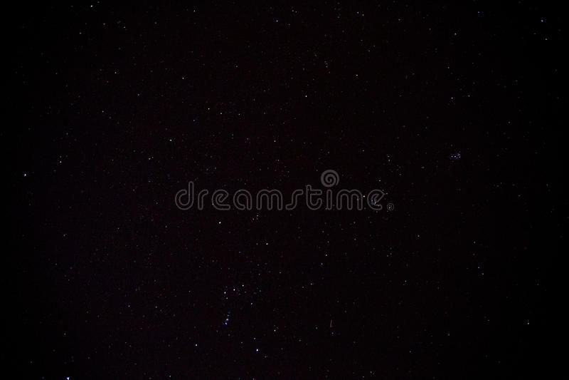 Céu noturno com estrelas fotos de stock royalty free